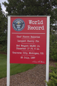 World's Largest Cherry Pie Guinness Traverse City