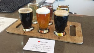 Texas Corners Brewing Company Flight