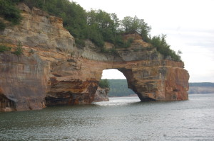 Grand Portal Point Pictured Rocks