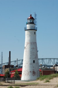 Fort Gratiot Light Vertical Michigan Oldest