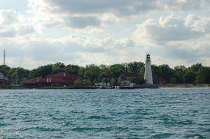 Fort Gratiot Lighthouse Canadian Side