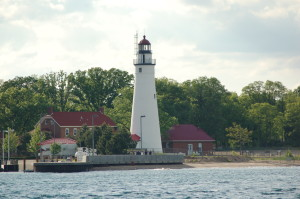 Fort Gratiot MI Lighthouse Point Edward Ontario