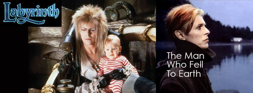 Labyrinth The Man Who Fell to Earth David Bowie