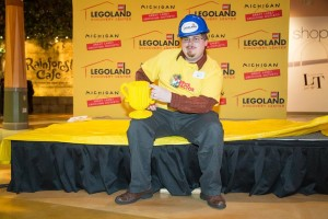 Legoland Model Builder Clint Parry