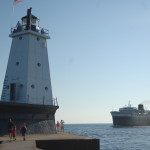 Ludington North Breakwater Lighthouse, Lake Michigan