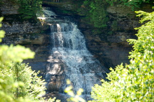 Pictured Rocks 50th Anniversary Chapel Falls