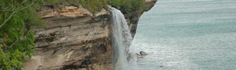 Spray Falls - Pictured Rocks National Lakeshore