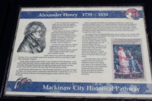 Alexander Henry Historic Pathway Mackinaw City