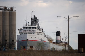 Alpena Cement Plant Mississagi Freighter