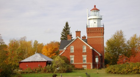 Big Bay Point Lighthouse - Lake Superior