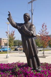 Bishop Baraga Statue Grand Rapids Michigan