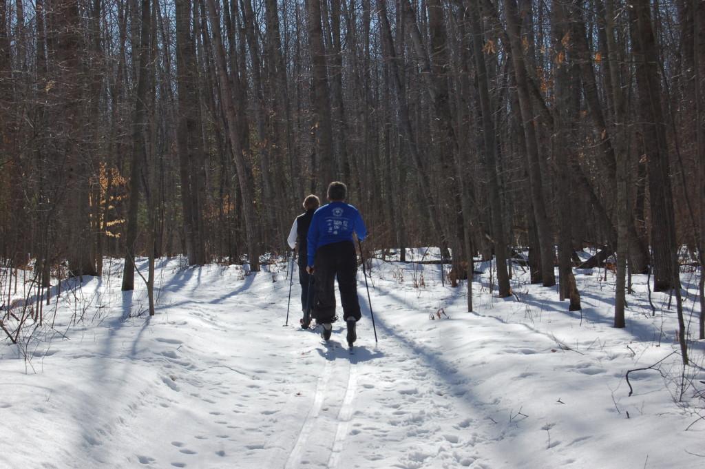 Cross Country Skiing Deerfield Nature Park Mt. Pleasant