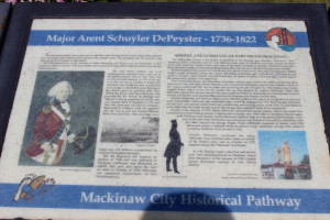 DePeyster Historic Pathway Mackinaw City