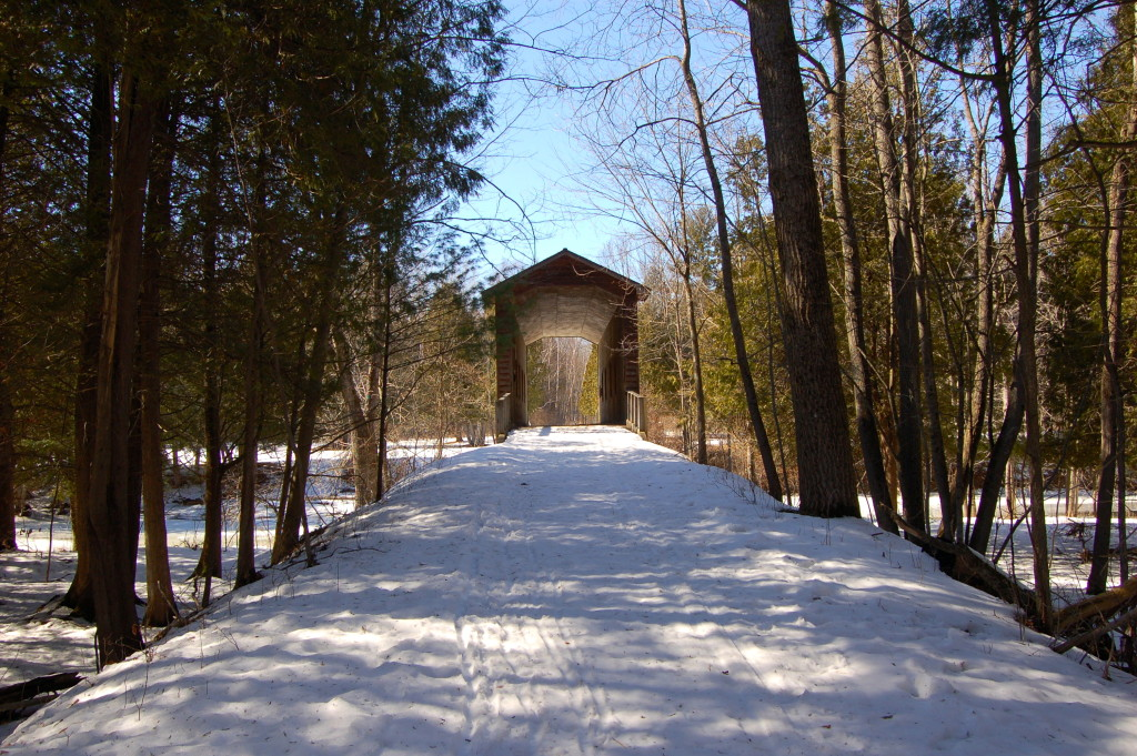 Deerfield Nature Park Covered Bridge Trail