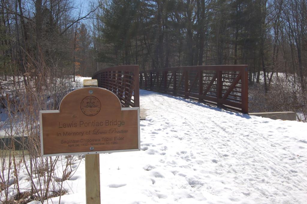 Deerfield Nature Park Pontiac Bridge