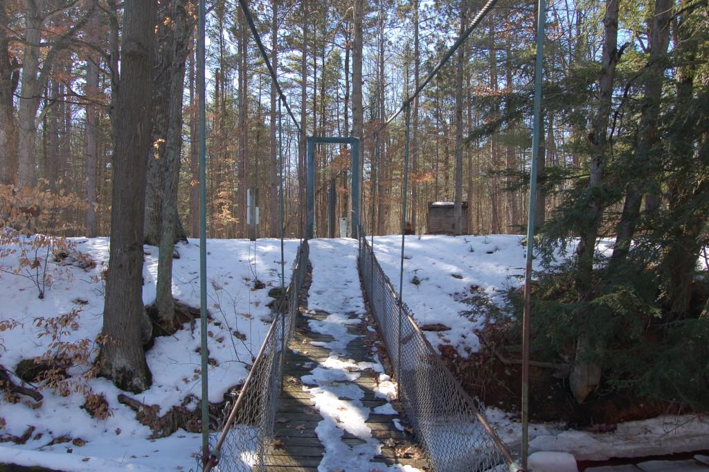 Deerfield Nature Park Suspension Bridge