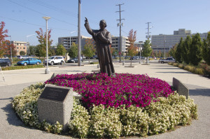 Grand Rapids Bishop Federic Baraga Statue
