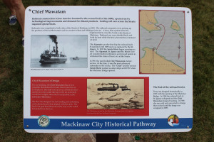 Mackinaw City Historic Pathway