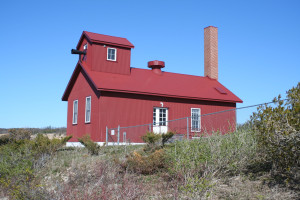 Point Betsie Lighthouse Fog Signal Building MI