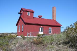 Point Betsie Lighthouse Fog Signal Building MI