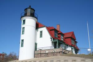 Point Betsie Lighthouse Lake Michigan