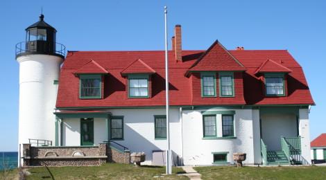 Point Betsie Lighthouse - Lake Michigan