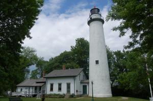 Pointe Aux Barques Lighthouse Feature Photo MI