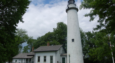 Pointe Aux Barques Lighthouse - Lake Huron