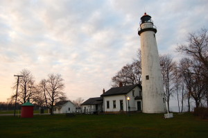 Pointe Aux Barques Lighthouse Sunset