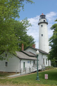 Pointe Aux Barques Lighthouse Top Post