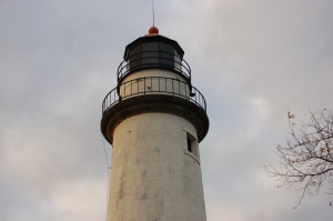 Pointe Aux Barques Lighthouse Tower Lantern Room
