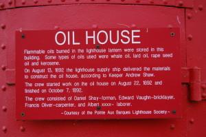 Pointe Aux Barques Oil House