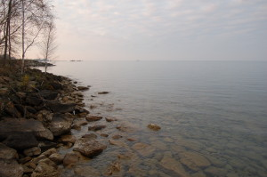 Pointe Aux Barques Shoreline Lake Huron