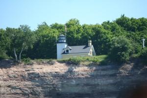Riptide Ride Grand Island North Lighthouse
