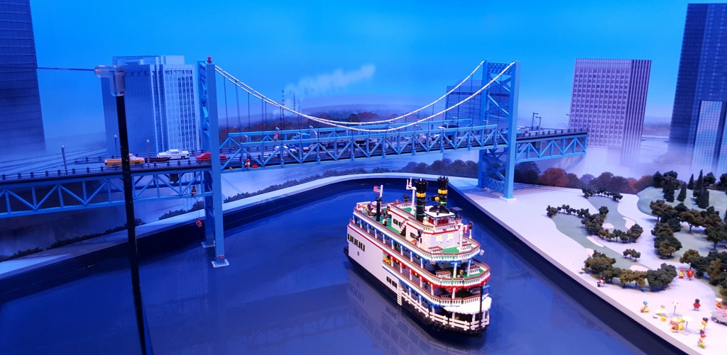 Ambassador Bridge Lego Replica