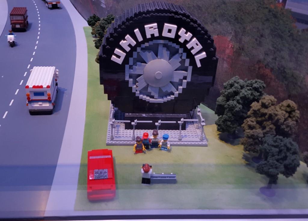 Uniroyal World's Largest Tire Michigan Lego