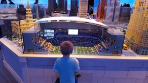 Lego Replica Ford Field Detroit Lions