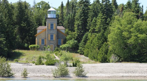 Bois Blanc Island Lighthouse - Lake Huron