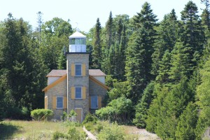 Bois Blanc Island Lighthouse Michigan