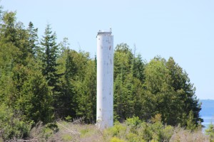Bois Blanc Island Range Light