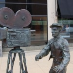 Michigan Roadside Attractions: Buster Keaton Statue in Muskegon