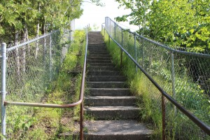 Castle Rock St. Ignace Stairs