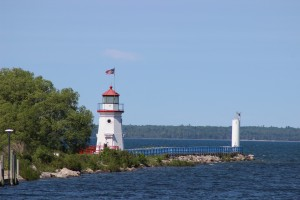 Cheboygan Crib Light and Pier Lake Huron