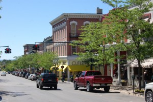 Downtown Petoskey Michigan