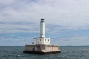 Grays Reef Lighthouse Lake Michigan