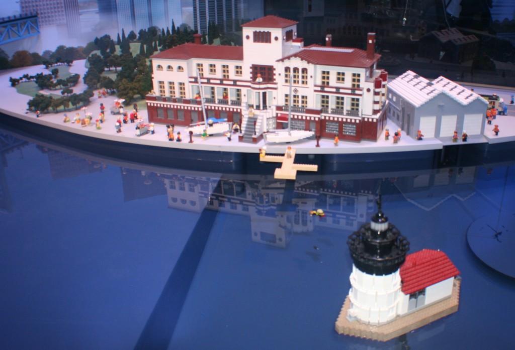Belle Isle Lego Replica