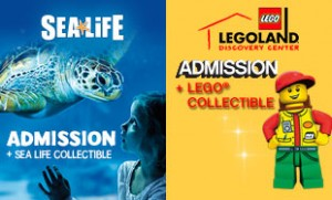 Legoland Sea Life Combo With Minifigure