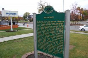Motown Museum Detroit Historical Marker