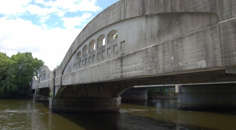 Michigan Roadside Attractions: Mottville Bridge