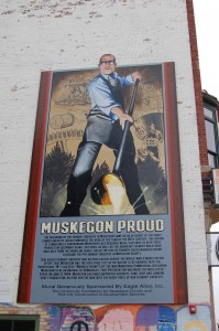 Muskegon Proud Downtown Mural